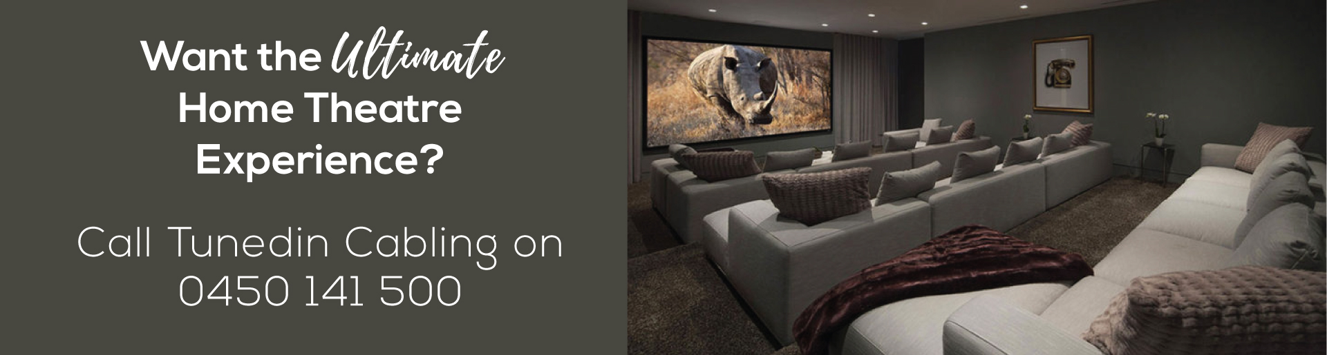 Home Theatre Installation Tuned In Cabling Professionals Wiring Solutions Ultimate Experience